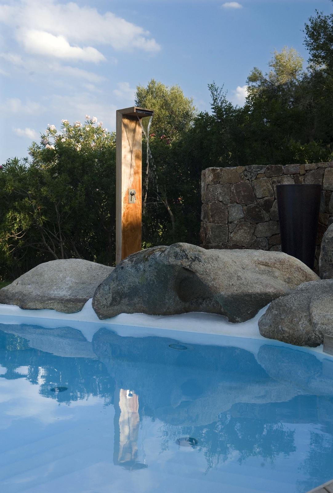 Residenza con piscina Porto San Paolo, progetto Marcello Scano