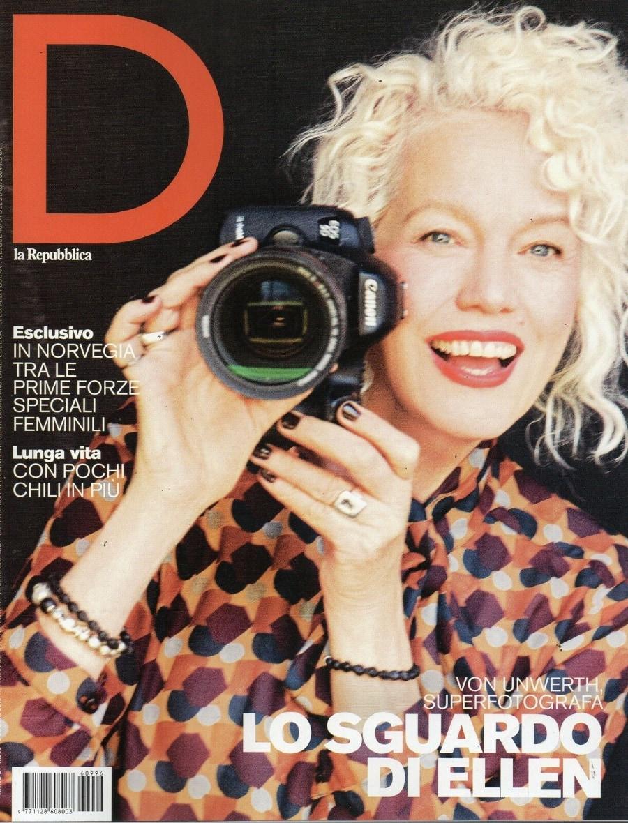 copertina D di Repubblica, 1996