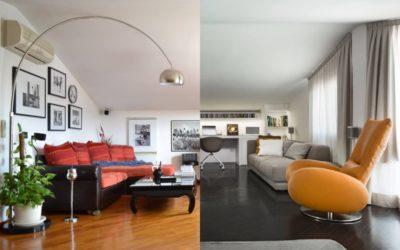 Prima e dopo: loft ad Olbia
