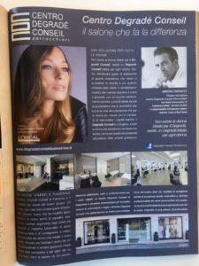 articolo publiredazionale su Centro Degradé Conseil pagina CDC Palestrina